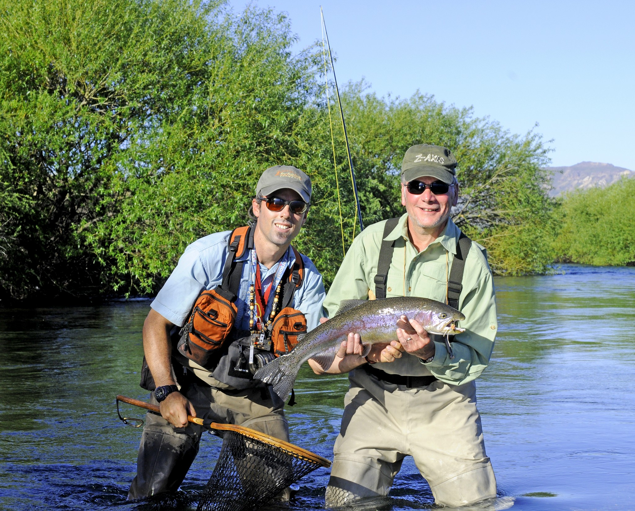 Bariloche fly fishing day trips trout guides fly for Patagonia fly fishing
