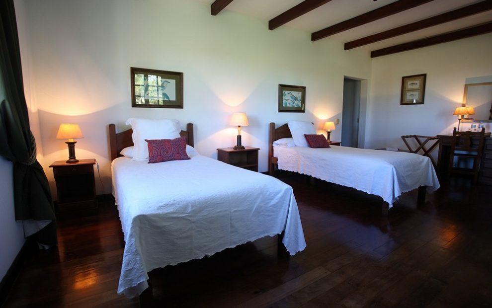 Bedroom, Las Laureles Lodge, Argentina/Uruguay by GaryKramer.net, 530-934-3873, gkramer@cwo.com