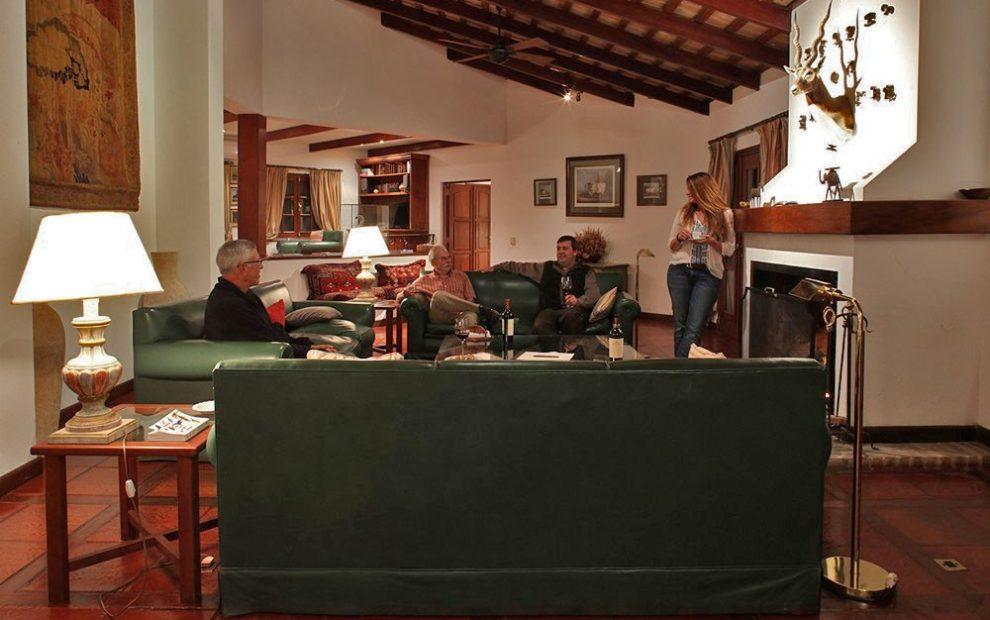 Lounge, Las Laureles Lodge, Argentina by GaryKramer.net, 530-934-3873, gkramer@cwo.com